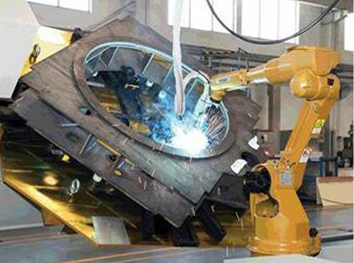 弧焊机器人是由哪些部分组成而协同作业的呢?