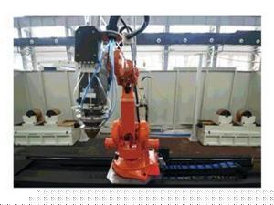 如何控制各弧焊机器人焊接区域