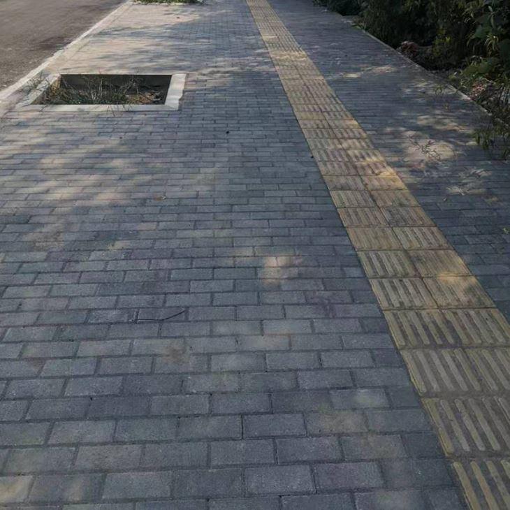 襄阳模块砖原料配比需要注意的问题