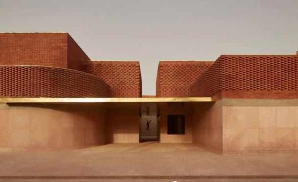 砖欣赏| 圣罗兰马拉喀什博物馆