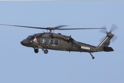 充气式UH-60黑鹰直升机的设计要点