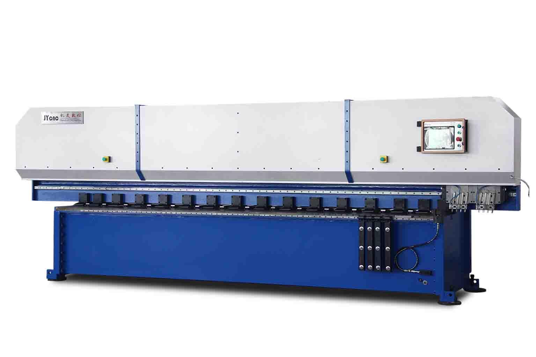 立式刨槽机的操作过程