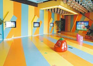 PVC防静地板